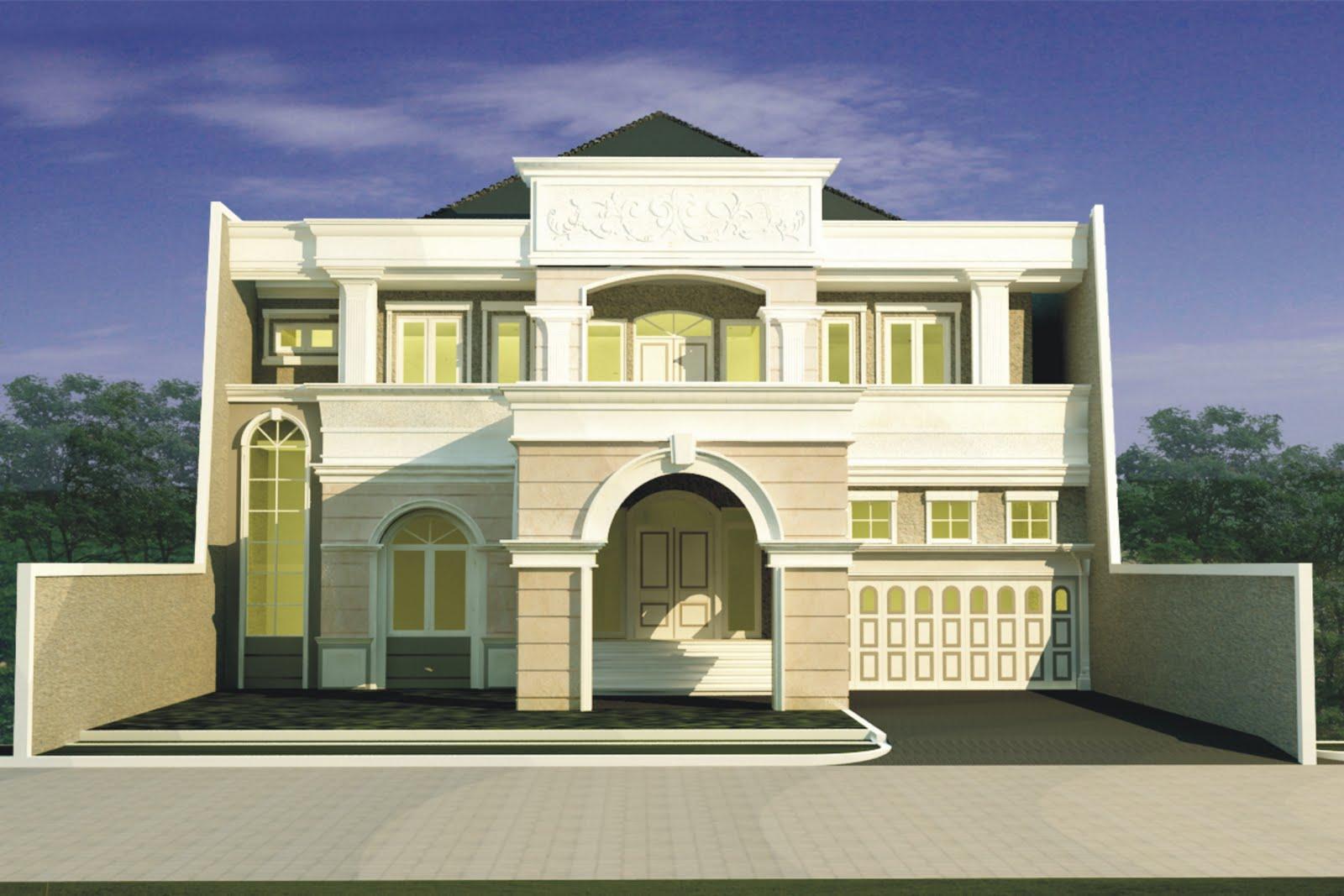 rumah minimalis modern klasik hunian damai dan tenang