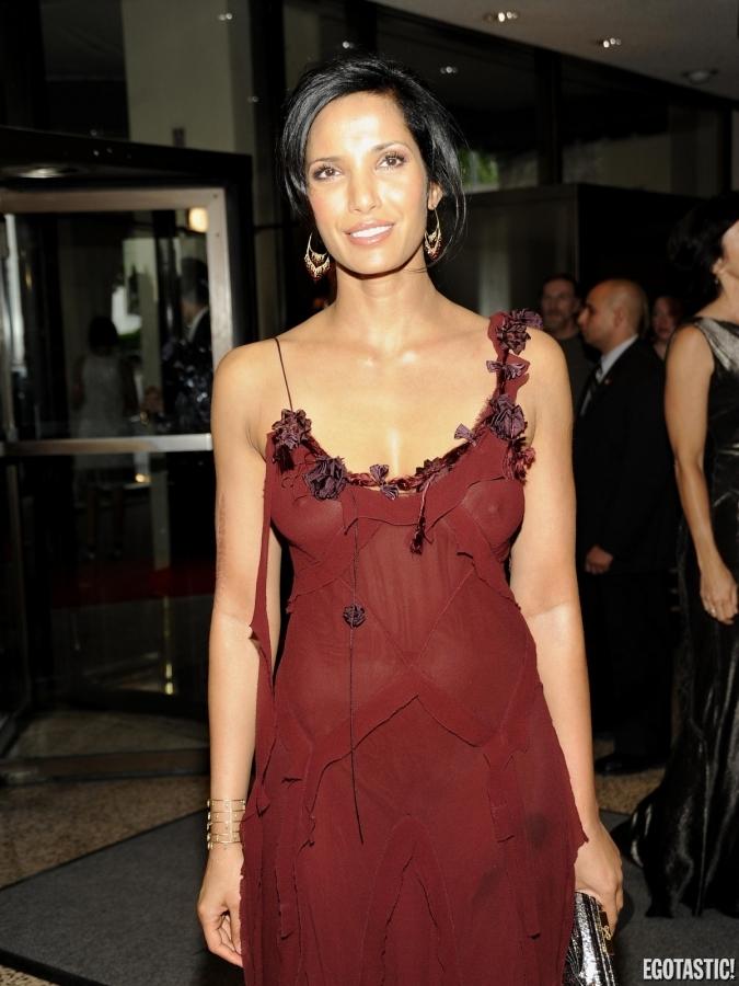 hot photos 2013 padma lakshmi see through red gown