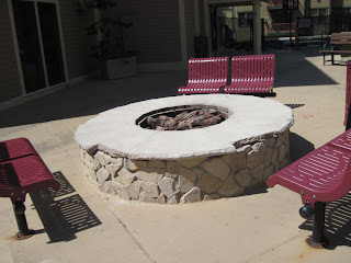 firepit at Summit Watch