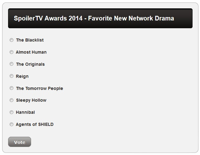 http://www.spoilertv.com/2014/01/spoilertv-awards-2014-voting-round_1621.html