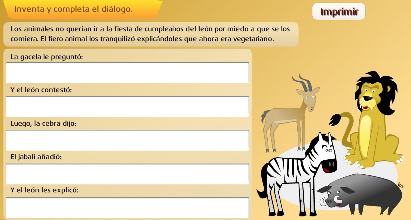 http://www.primerodecarlos.com/SEGUNDO_PRIMARIA/mayo/tema_4_3/actividades/otras/lengua/dialogo_sm/index.swf