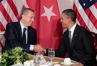 Turkish Prime Minister Recep Tayyip Erdogan and U.S. President Barack Obama