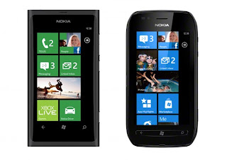 Nokia Lumia 800 for Telus, Lumia 710 for Rogers in Canada