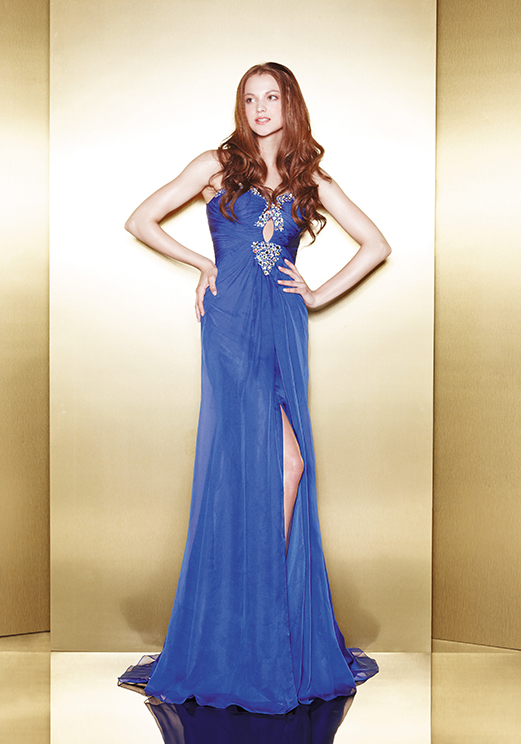 Love 16 Royal Long Prom Dresses by Enzoani 2013