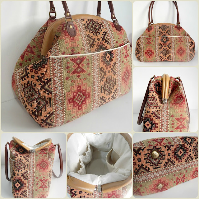 The Companion Carpet bag by Mrs H