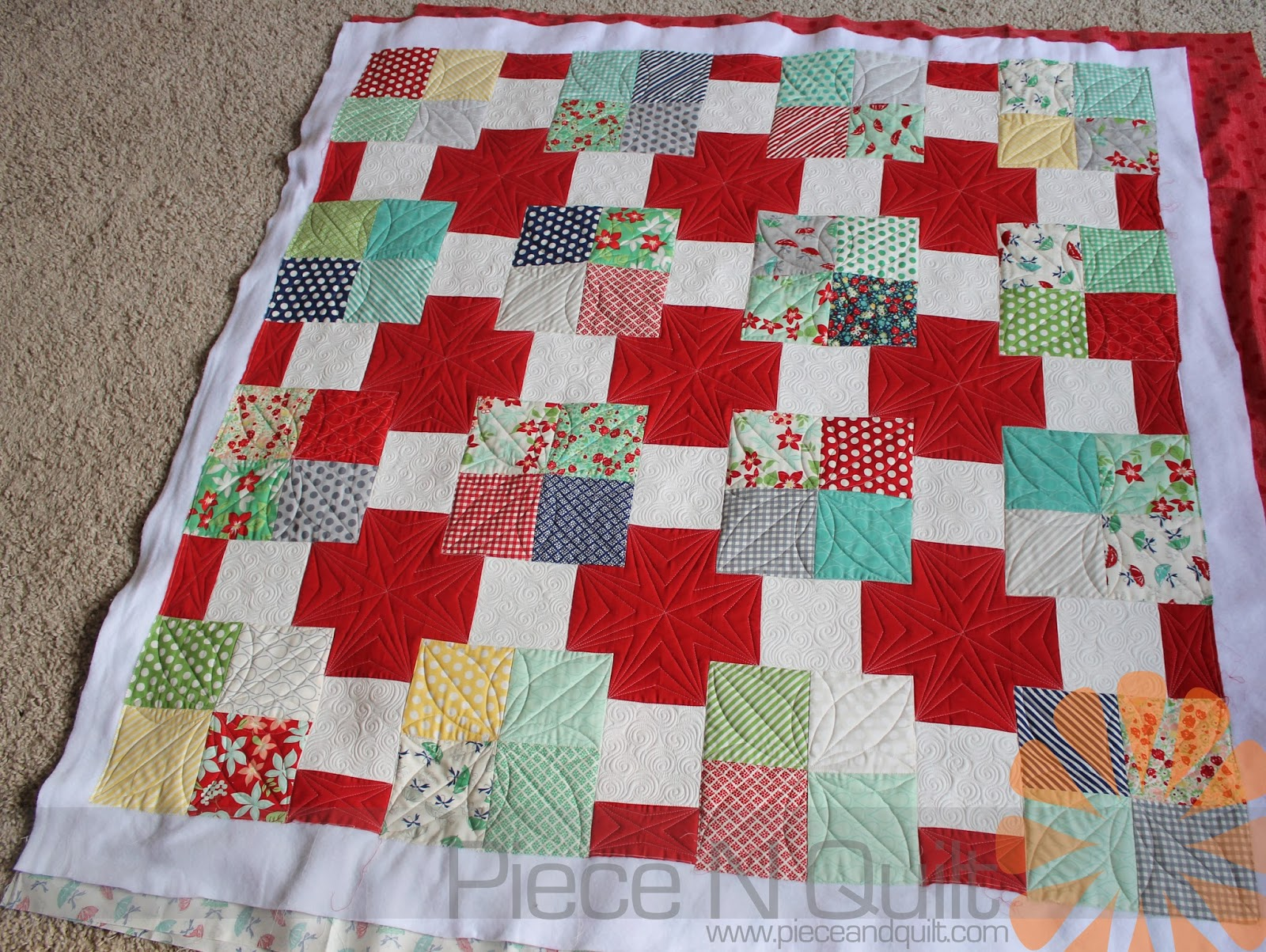 machine quilting designs for baby quilts