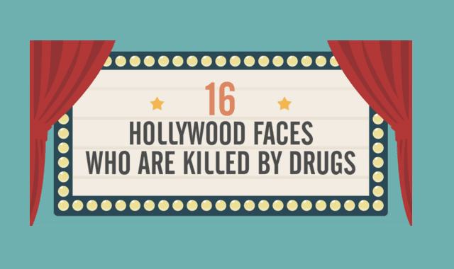 16 Hollywood Faces Who Are Killed by Drugs