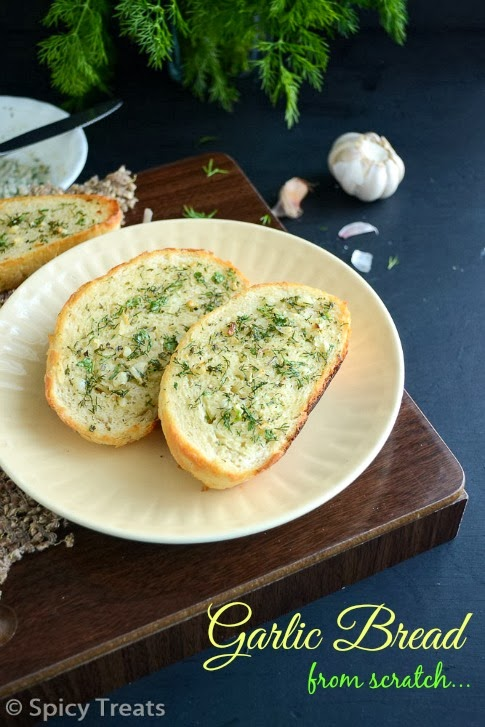 Garlic Bread From Scratch
