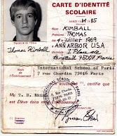 Thomas Q Kimball International School Of Paris ID Card