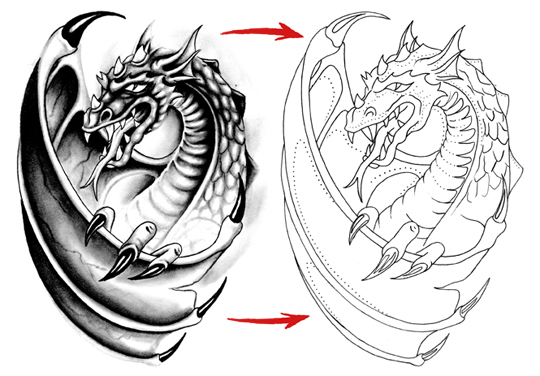 tattooing design: 3 basic tattooing methods