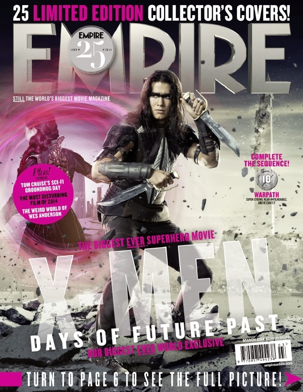 Empire covers X-Men: Days of Future Past: Sendero de Guerra (Warpatch)