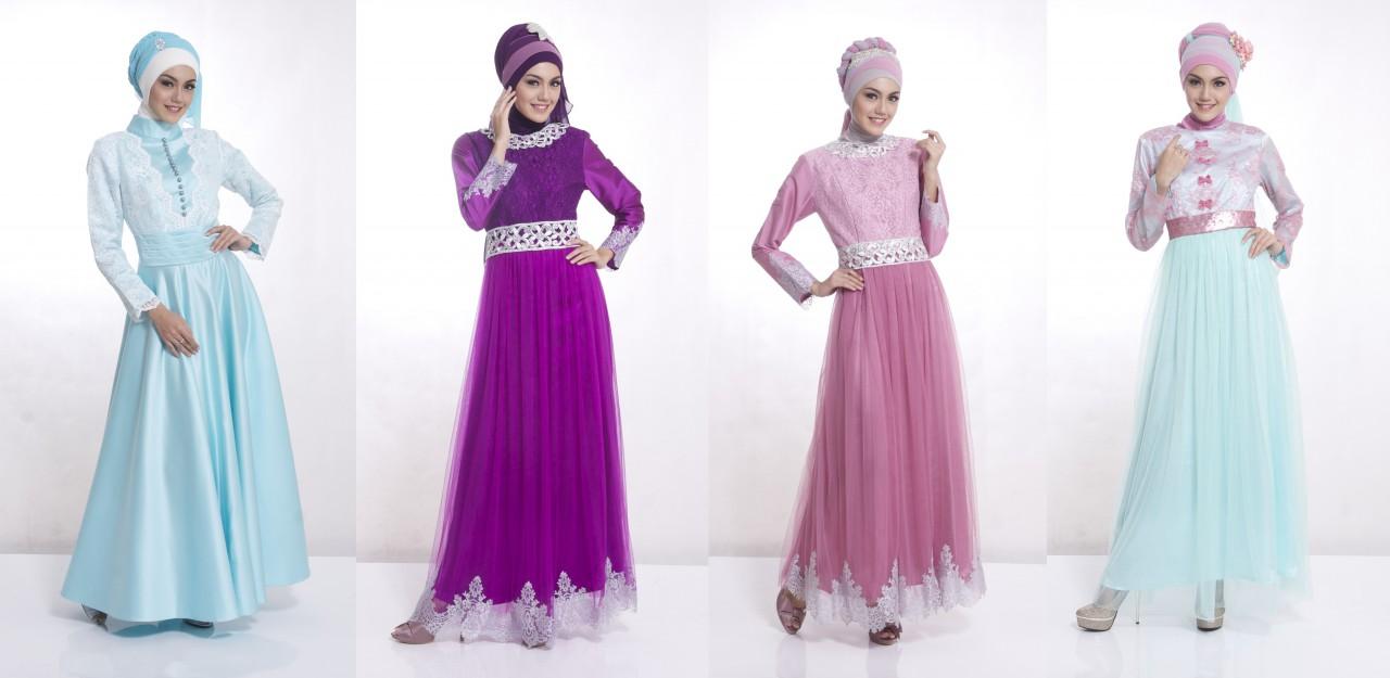 Ini Dia 10 Model Baju Muslim Wanita Yang Sedang Ngetrend