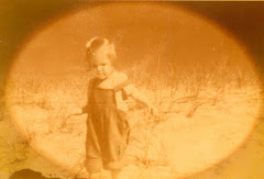 In My Element, even at age 2, on the beach at Cape Cod