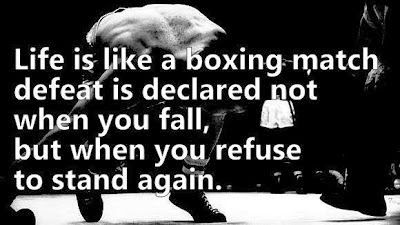 Inspirational Boxing quotes/ E cards