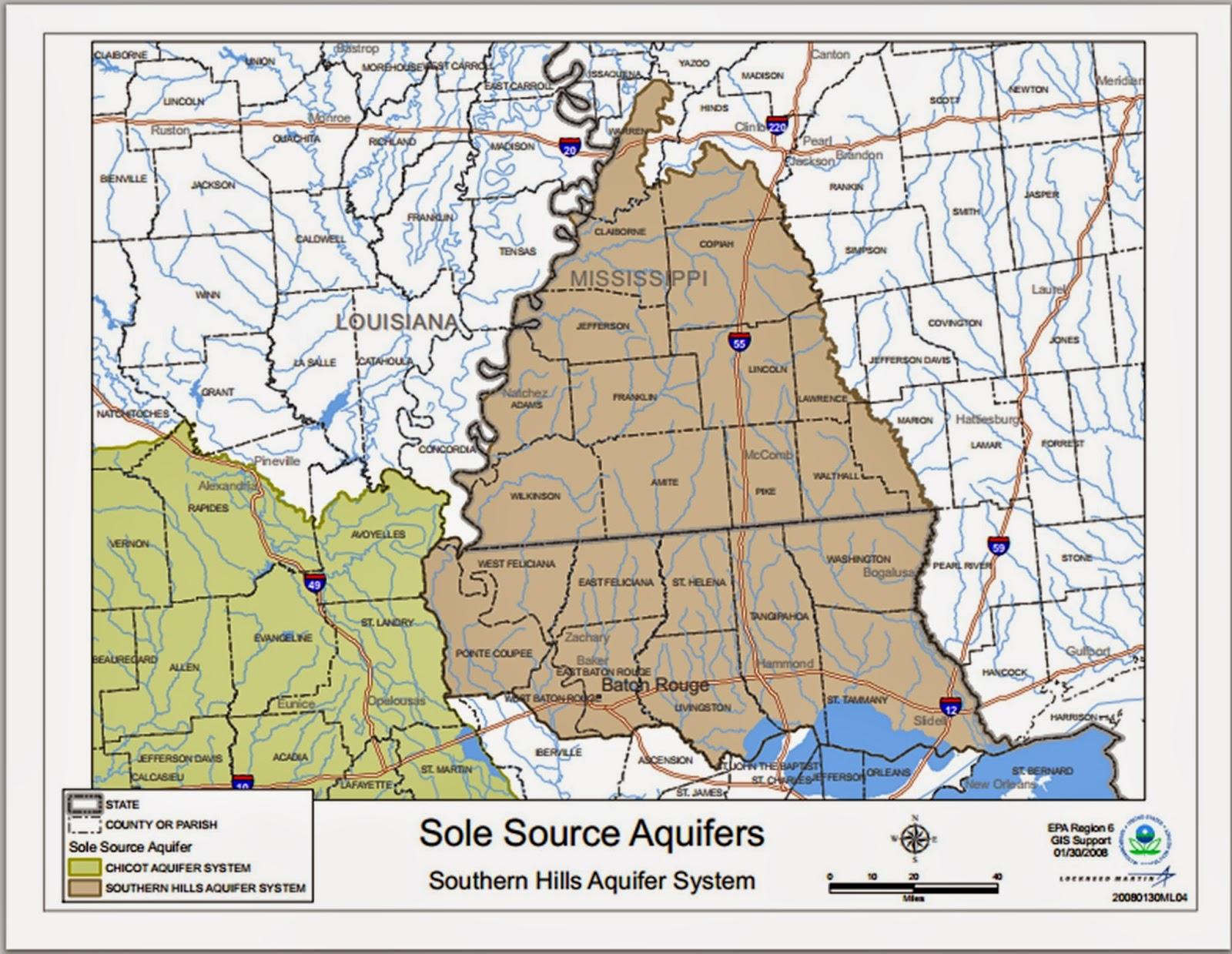 map source http www epa gov region6 water swp ssa maps ssa shills pdf