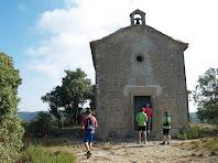 Façana de migdia de la capella de la Mare de Déu del Roser