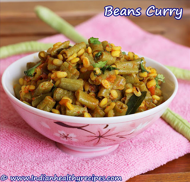 Beans Curry | Poriyal