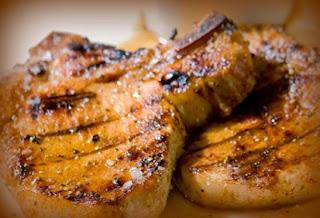 Chuletas de cerdo estilo oriental