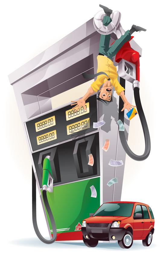Sobre la gasolina no aparece solamente en el gas la gacela