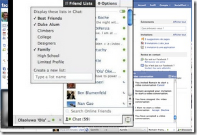 How revert facebook chat sidebar to older version?