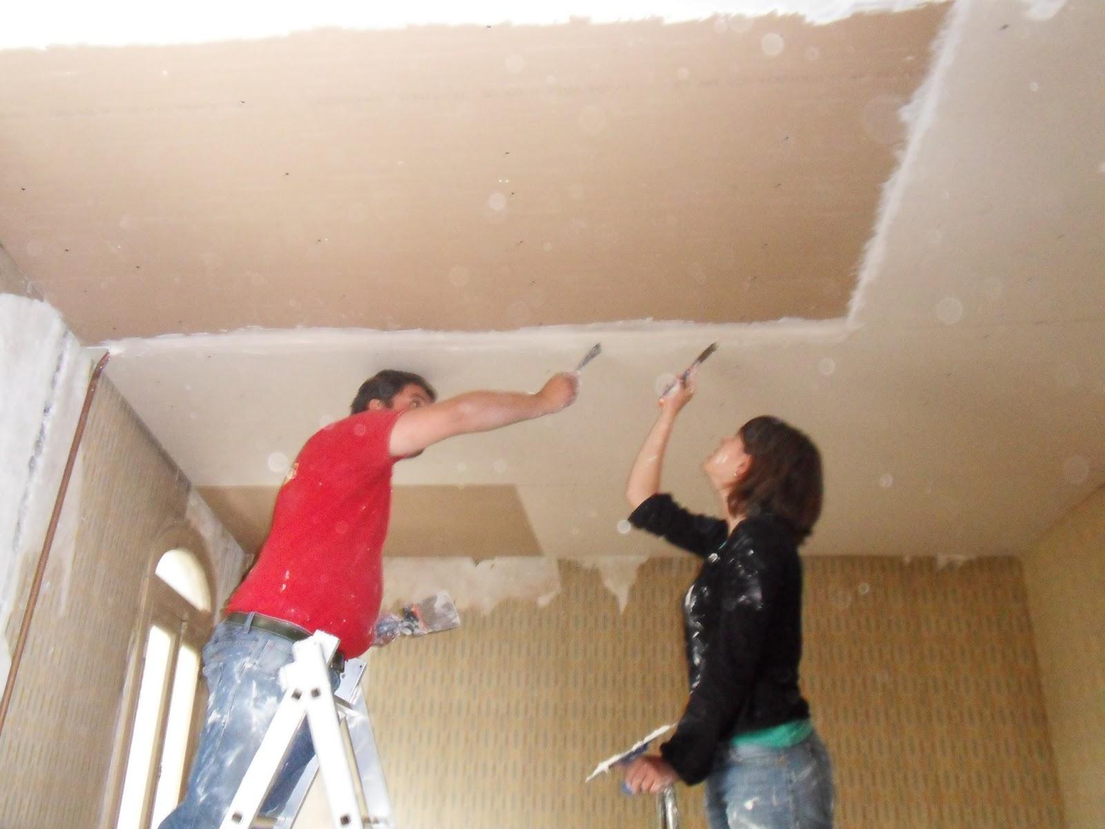 Les bandes du plafonds personne n 39 y croit for Faux plafond colle