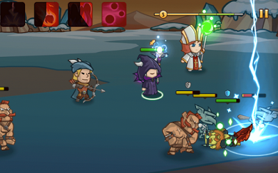 Pocket Heroes 2.05 Mod Apk (Unlimited Coin+Gems+ Goblin Coins ) Screenshot