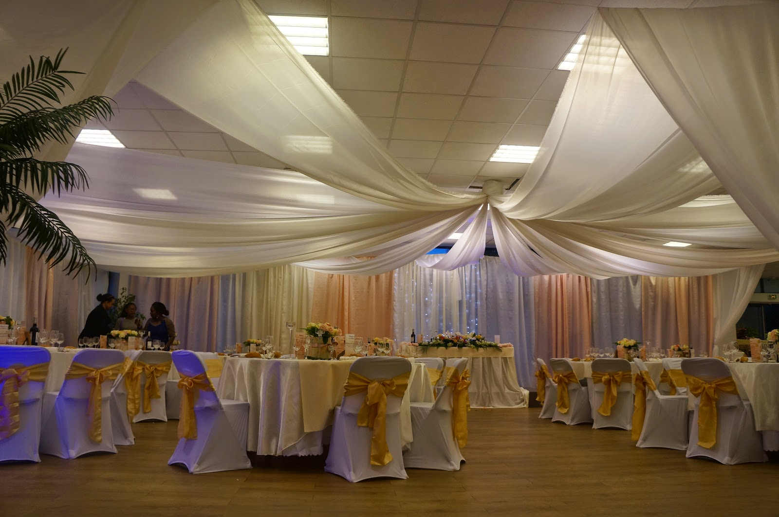 Decoratricesallemariage d corations salles mariages for Decoration salle