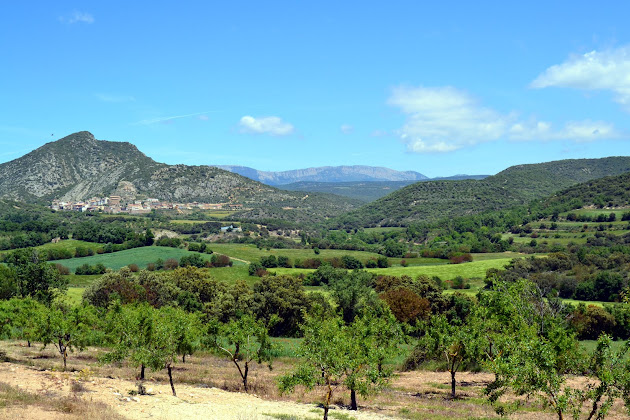 Sierra del Montsec, Cima de la Malera, Tartareu, Valle del rio Farfanya.