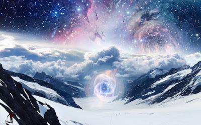 Concentración de energía cósmica (Galaxias y Estrellas)