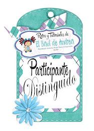PARTICIPANTE DISTINGUIDO