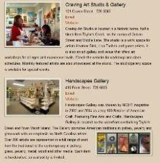 Gallery & Studio Guide