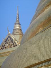 gouden mozaïk tempel