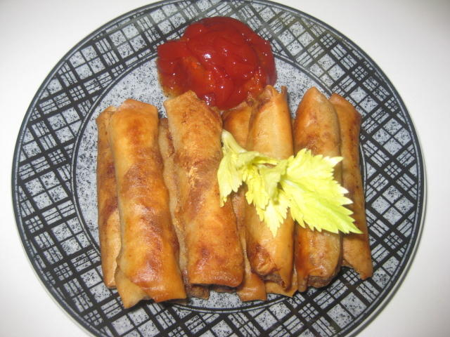 spring roll wrapper instructions