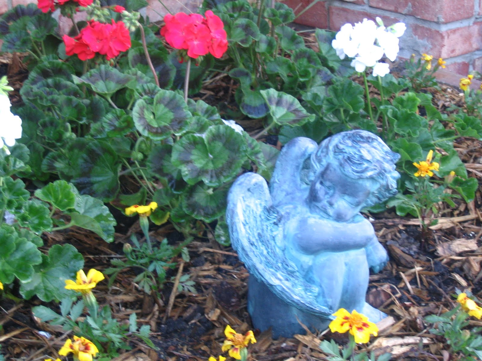 Pondering in the Garden