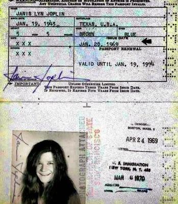 Passport janis joplin