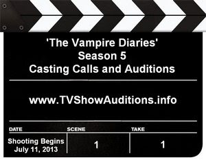 The Vampire Diaries Season 5 Casting Auditions