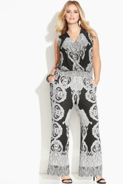 All About Women's Things: Tips For Wearing Plus Size Jumpsuits