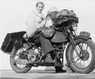 Around the world on a motocycle in 1932