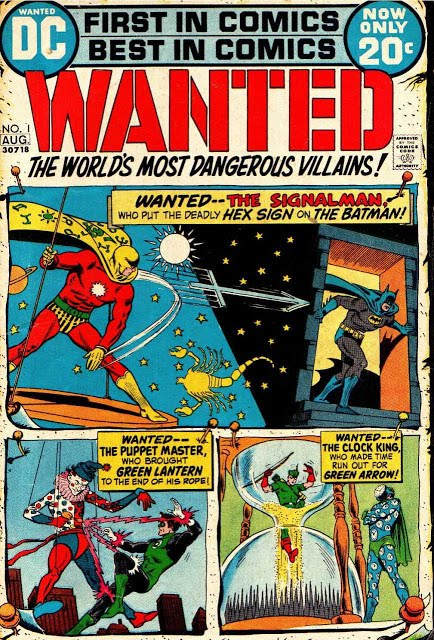 Wanted, The World's Most Dangerous Villains #01 - #09 (1972 - 1973) DC Comics [ Complete Series]