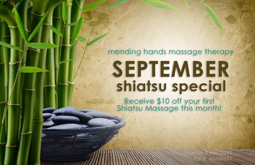 sarasota shiatsu massage