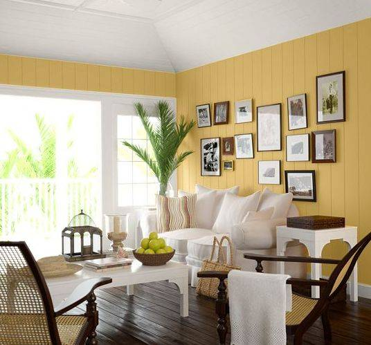 Living room paint ideas interior home design for Family room color ideas