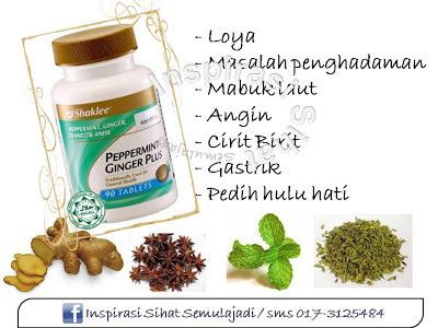 vitamin shaklee untuk perut