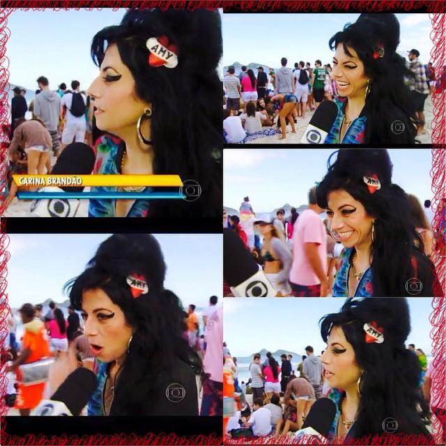 RJTV - Sósia Amy Winehouse
