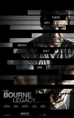 The Bourne Legacy, Jeremy Renner, Aaron Cross, Tony Gilroy, poster, affiche, teaser