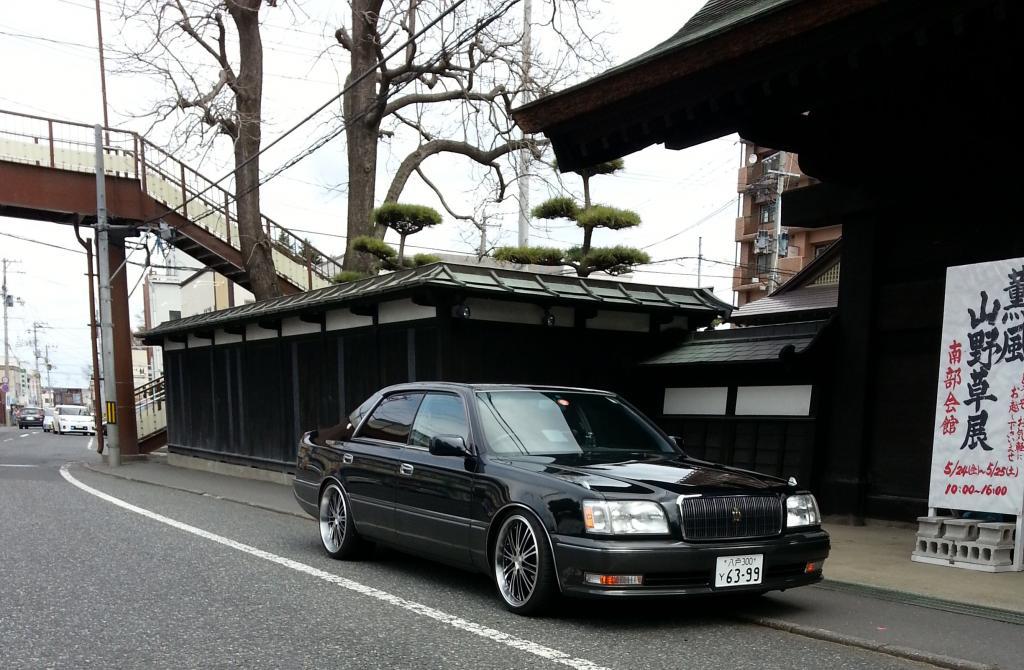 Toyota Crown Majesta S150, japoński sedan, luksusowy, V8, RWD, JDM