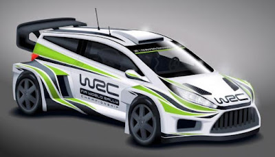 World Rally Car Concept 2017 (Rendering) Front Side