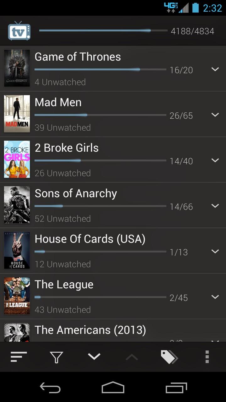 aplikacja do śledzenia seriali, agregator seriali