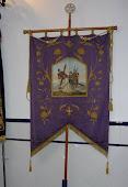 Antiguo estandarte Hermandad Ntro. Padre Jesús de Nazareno, Calzada de Calatrava