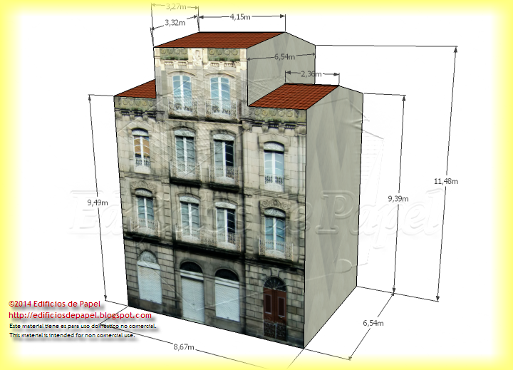 Paper Building belonging to the Ourense Series