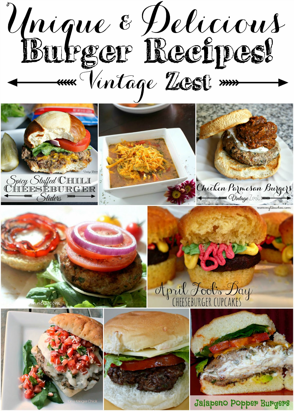 Unique and Delicious Burger Recipes!